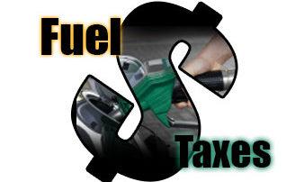 Fuel Taxes Dollar Sign