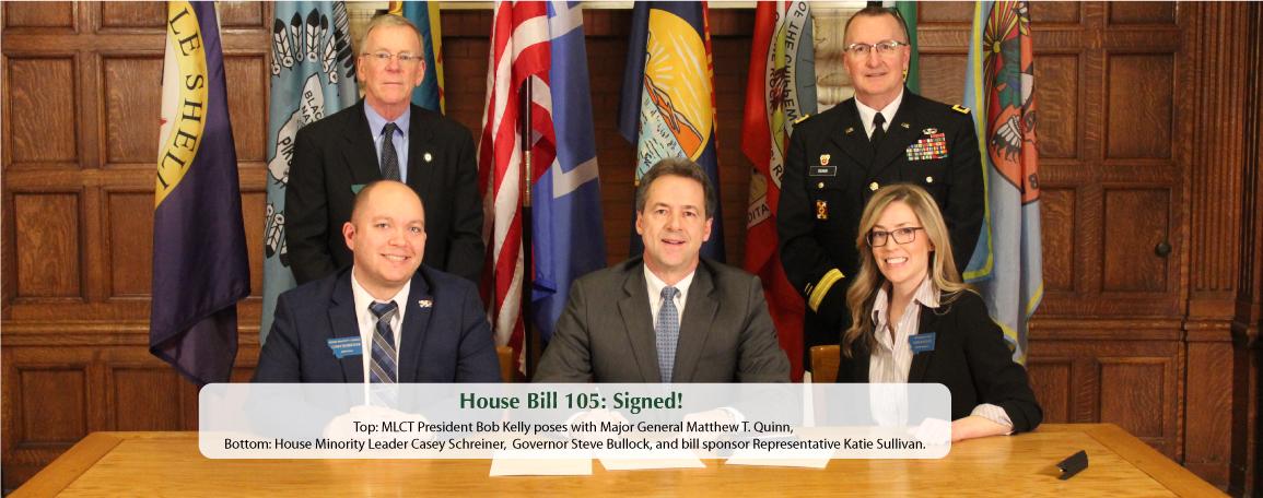 HB 105 Signed!