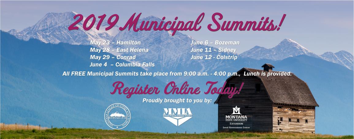 2019 Municipal Summits