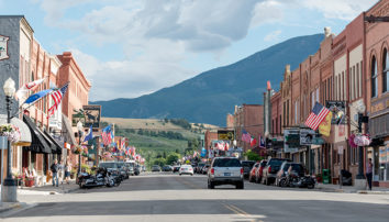 Downtown Red Lodge received a Tourism Grant last year for its wayfinding project.